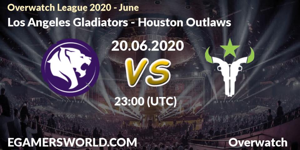 Los Angeles Gladiators Houston Outlaws 20 06 20 Overwatch Prediction Stream Livescore Results Overwatch League 2020 June Los Angeles Gladiators Houston Outlaws Hltv Twitch P5eebq Lt3 Egw