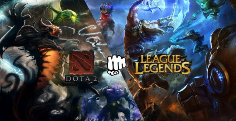Key differences between Dota 2 and League of Legends