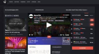 Gosugamers.net: the review of the popular esports portal