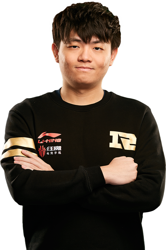 ah fu - player of Royal Never Give Up