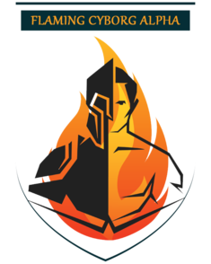 Flaming Cyborg Alpha (dota2)