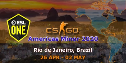 Americas Minor - ESL One Rio 2020
